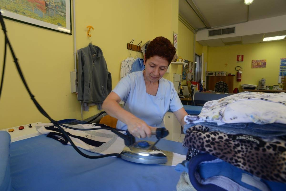 servizio lavanderia stireria