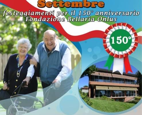 locandina 150 Anniversario Fondazione-Bellaria